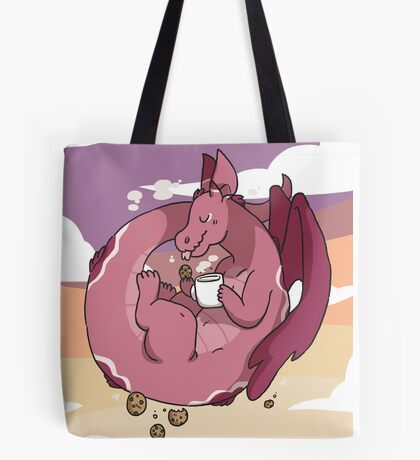 Milk & Cookies Dragon Tote Bag