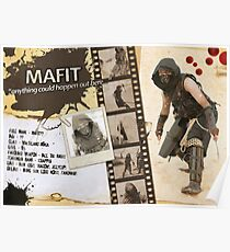 Mafit's Character Sheet (Scavengers Webseries) Poster