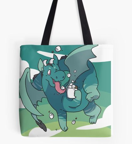Cocoa Dragon Tote Bag