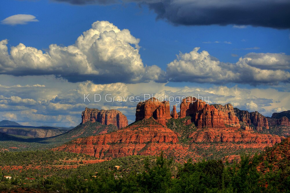 Sedona Red Rocks by K D Graves Photography