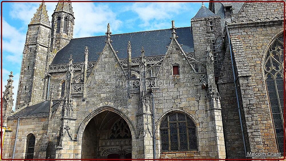 """"""" The Church in the City of Guerande"""" by Malcolm Chant"""