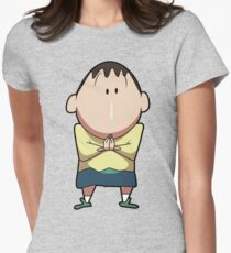 Boo from Shin-chan Womens Fitted T-Shirt