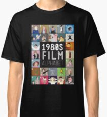 1980s Film Alphabet Tee Classic T-Shirt