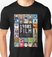 1980s Film Alphabet Tee T-Shirt