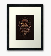 Fortune & Glory Framed Print