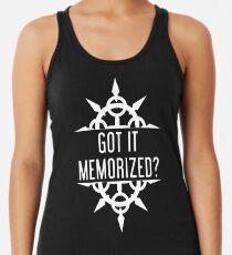 Got It Memorized? Women's Tank Top