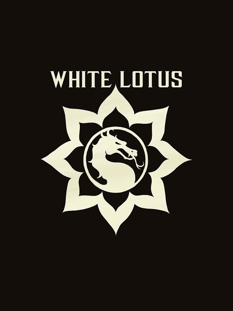 Mortal Kombat X White Lotus Graphic T Shirt By Ultimachu Redbubble