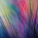Tropical Feather Abstract by Sharon Johnstone