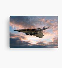 Vulcan Bomber Metal Print