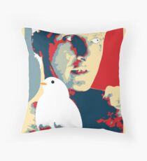 Time to die Throw Pillow