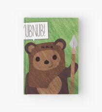 Cute Ewok! YUBNUB!! Hardcover Journal