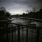 Winter 2012 - Skating on a Dutch Canal by Debja