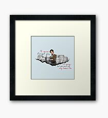 The Doctor and his Companions Framed Print