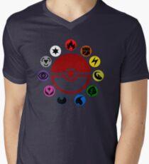 Pokemon TCG Types Men's V-Neck T-Shirt