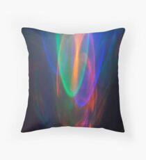 Crystal Flame Throw Pillow