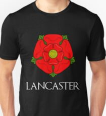 The House of Lancaster - with text Unisex T-Shirt
