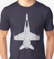 McDonnell Douglas F-18 Hornet T-Shirt