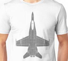 McDonnell Douglas F-18 Hornet Unisex T-Shirt