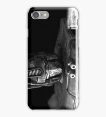 Tough Day In The Office - BW iPhone Case/Skin