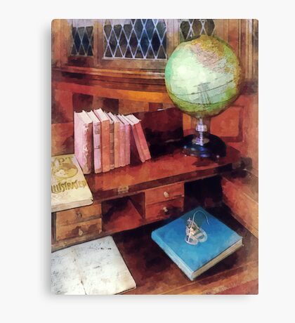 Education - Professor's Office Canvas Print