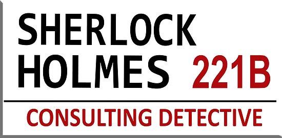 Sherlock Holmes Street Sign by nero749