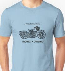 Motorcycle Cruiser Style Illustration T-Shirt