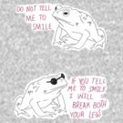 Sassy Toad by Elliot Parker