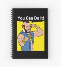 Cuaderno de espiral Mr T You Can Do It Gym