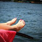 Pink Relaxation by LaurelMuldowney