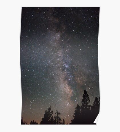 Green Perseid Poster