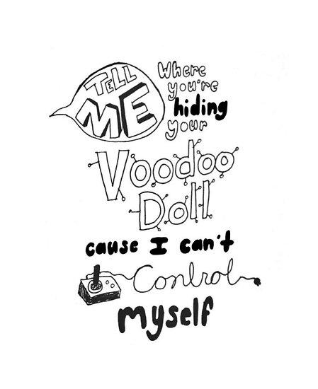 Voodoo doll 5 seconds of summer lyrics