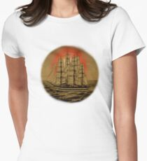 Set Sail - 001 Womens Fitted T-Shirt
