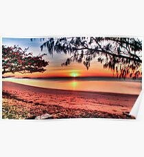 Sunrise at Kurrimine Beach Poster
