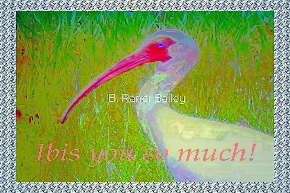 Ibis blues by ♥⊱ B. Randi Bailey