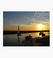 Blakeney Quay Photographic Print