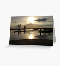 Blakeney Quay Greeting Card