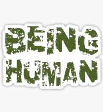 Being Human Sticker