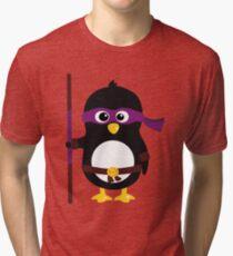 Pingouin Ninja Donatello Tri-blend T-Shirt