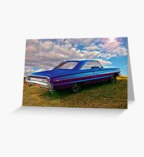 Ford Thunder Greeting Card