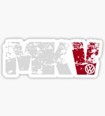 MKV (white) Sticker