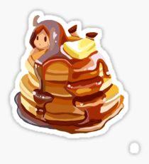 Pancake girl Sticker
