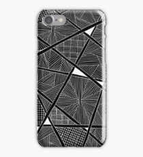 Zentangle - iPhoneCover - Black iPhone Case/Skin