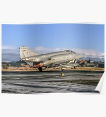 McDonnell Phantom FGR.2 XV426/Q take-off Poster