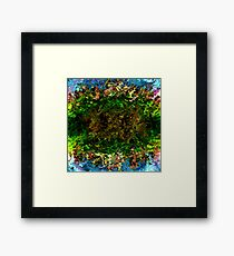 modern composition 17 by rafi talby Framed Print