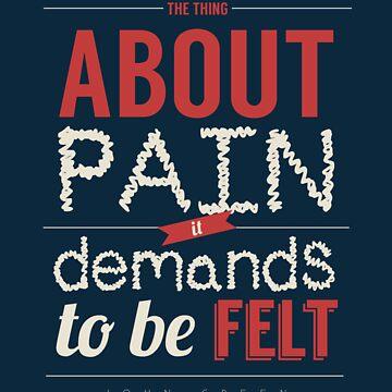 Pain Demands to Be Felt by sammatthews91
