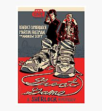 Vintage Poster - The Great Game Photographic Print