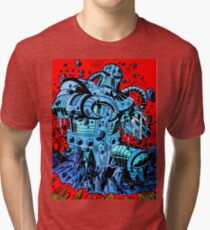 Blue Demon Tri-blend T-Shirt