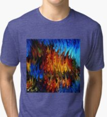 modern composition 18 by rafi talby Tri-blend T-Shirt
