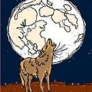 Happy Coyote iPod Case by strayfoto