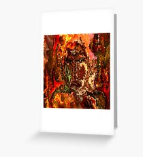 modern composition 19 by rafi talby Greeting Card